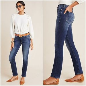 Anthropologie Dazzler Mid-Rise Straight Jeans